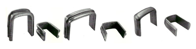 хомутовая полоса, кованые элементы